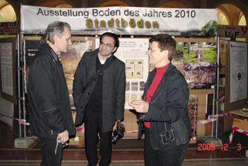 v.r.: Prof. Dr. Frielinghaus, Dr. Makki, Hr. Schlenther